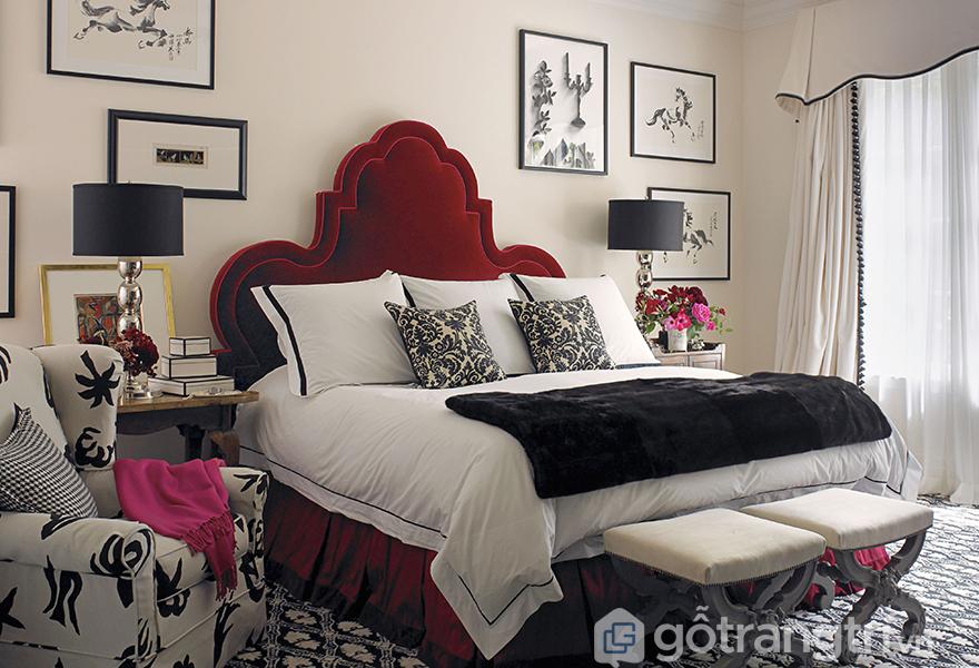 Sử dụng các phụ kiện trang trí cho căn phòng