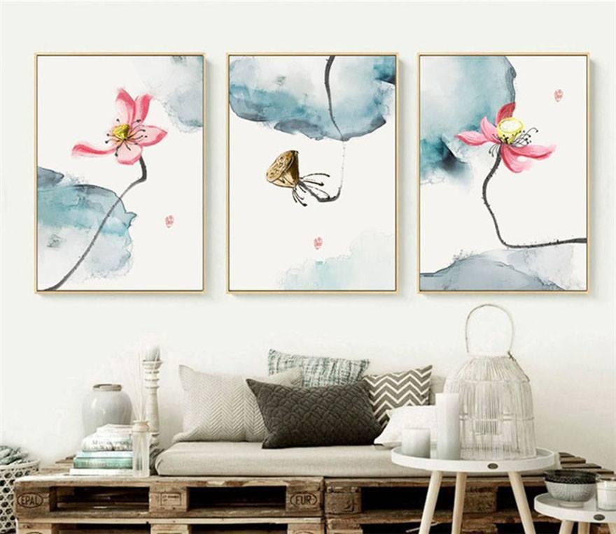 tranh ảnh trang trí nội thất chung cư