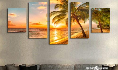 Tranh canvas là gì? Tranh canvas phong thuỷ đẹp cho phòng khách