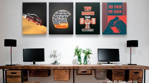 Những mẫu tranh canvas văn phòng được ưa chuộng nhất hiện nay