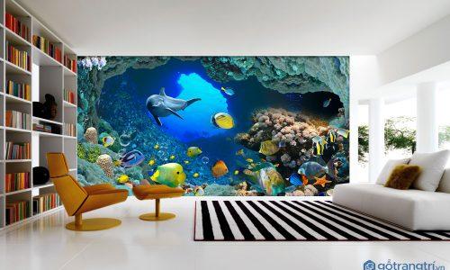 Chọn tranh dán tường 3D đẹp để bé thêm yêu phòng ngủ của mình