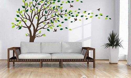 Tranh dán tường hình cây – cách trang trí đơn giản mà độc đáo