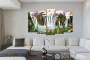 Vì sao nên lựa chọn tranh sơn thủy treo phòng khách?