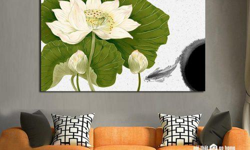 6 loại tranh phong thuỷ phòng khách được ưa chuộng nhất