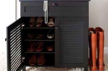 Những nguyên tắc đặt tủ giày theo phong thủy giúp chiêu tài hút lộc