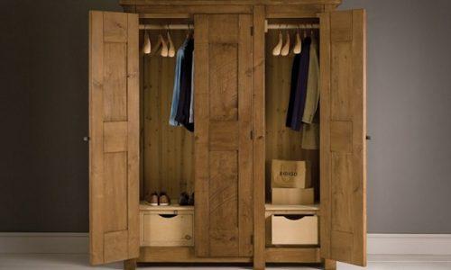 Tại sao nên sử dụng tủ quần áo gỗ sồi trong không gian phòng ngủ?