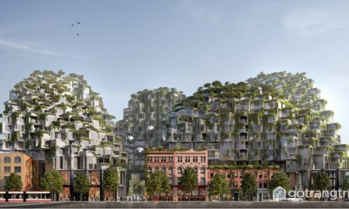 Khu phức hợp pixel Toronto Canada sắp ra mắt với thiết kế cực đỉnh