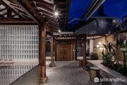Cảm hứng kiến trúc nhà truyền thống Hàn Quốc trong Seoul Coffee