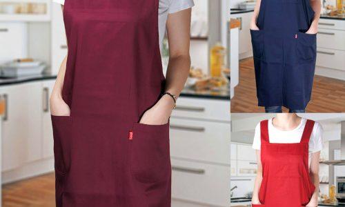 Tổng hợp các loại tạp dề nấu ăn đẹp được yêu thích nhất 2018