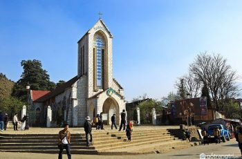 Nhà thờ đá Sapa- nơi biểu tượng tinh hoa kiến trúc Pháp hội tụ