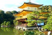 Hoa mắt với ngôi đền dát vàng Kinkakuji từng là quốc bảo ở Nhật Bản