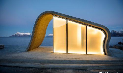 Ấn tượng với nhà vệ sinh công cộng vào không muốn ra ở Na Uy