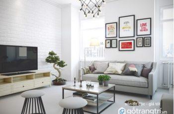 Thay đổi không gian sống nhờ bộ khung ảnh treo tường gỗ