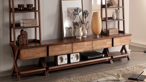 Điểm tên các mẫu kệ tivi đẹp bằng gỗ được nhiều người yêu thích
