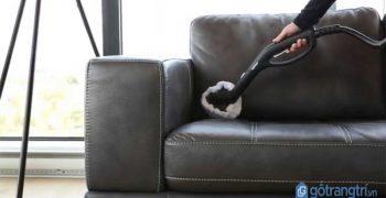 Chuyên gia tư vấn bật mí cách làm sạch ghế sofa da hiệu quả