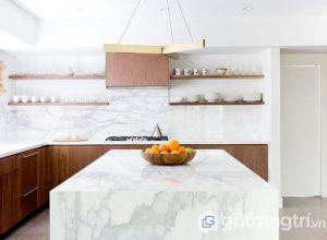Đá cẩm thạch - Lựa chọn hàng đầu cho mặt bàn bếp hiện nay