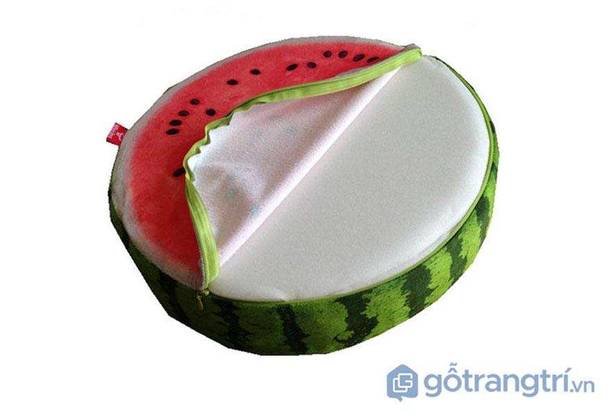 Đệm ngồi bệt tròn: Hình trái cây
