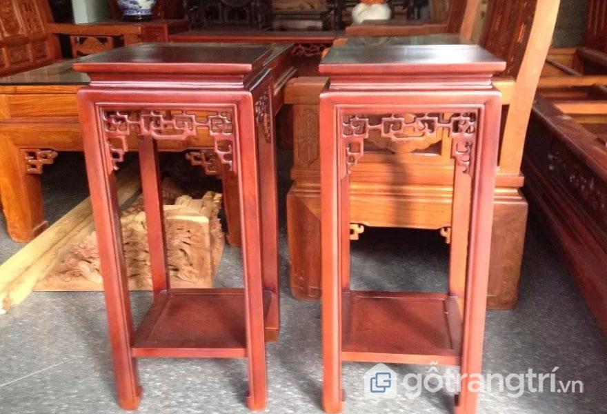 Ghế đôn gỗ hương: Kiểm tra mối mọt