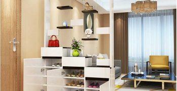 3 mẫu tủ giày đa năng ưu điểm vượt trội được ưa chuộng hiện nay
