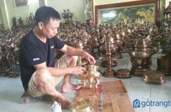 Tinh hoa làng nghề đúc đồng Lộng Thượng với lịch sử hàng trăm năm