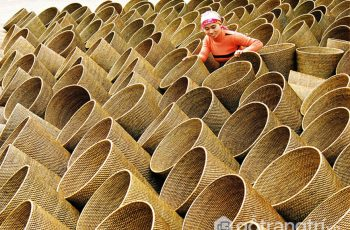 Nét tinh hoa làng nghề mây tre đan Phú Vinh có tiếng ở Hà Nội