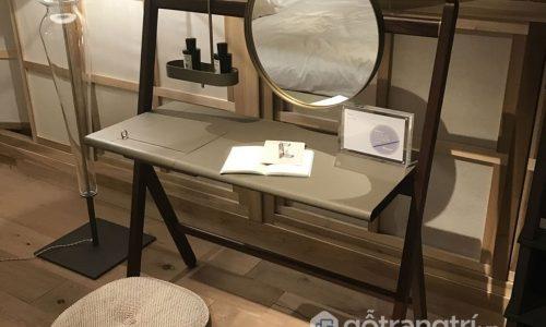 Những mẫu bàn trang điểm bằng gỗ đẹp được săn đón nhất năm 2018