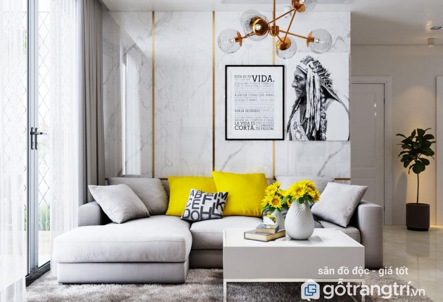bộ bàn ghế sofa phòng khách