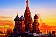 Nhà thờ thánh Basil – Công trình kiến trúc tôn giáo vĩ đại của nước Nga