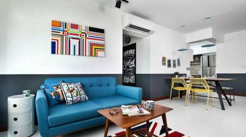 Mẫu thiết kế nội thất căn hộ hiện đại lý tưởng dành cho giới trẻ