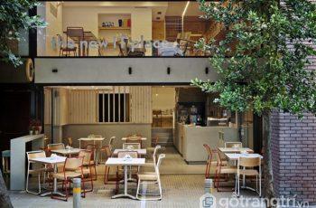 Chiêm ngưỡng vẻ đẹp của nội thất quán cafe màu gỗ xinh xắn