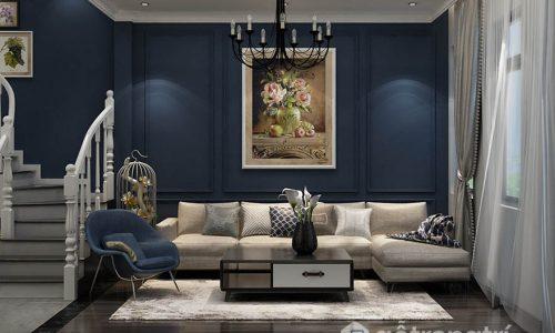 Các cách lựa chọn nội thất cho căn hộ mang phong cách bán cổ điển