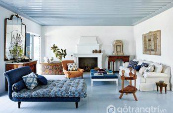 Vật liệu thường được sử dụng trong phong cách nội thất hiện đại