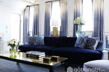 Ứng dụng phong cách ombre vào thiết kế nội thất – vũ điệu của màu sắc