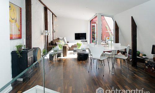 Cách tiếp cận phong cách urban chic trong thiết kế nội thất