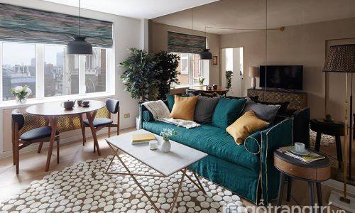 Thiết kế phòng khách đẳng cấp – khi diện tích không còn là vấn đề