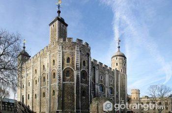 Tháp London - Công trình kiến trúc đẹp tự hào của người dân Anh