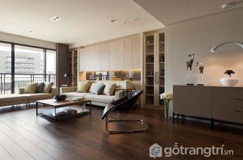 Xu hướng sử dụng vật liệu nội thất gỗ trong thiết kế căn hộ chung cư