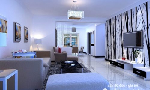 Thiết kế nội thất phòng khách tuổi Nhâm Thìn hợp phong thủy