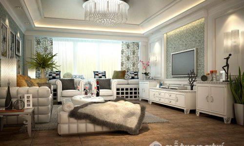 Tư vấn thiết kế nội thất phòng khách đón Tết Nguyên Đán 2018