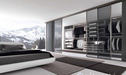 Thiết kế phòng thay đồ trong phòng ngủ - thể hiện đẳng cấp của bạn