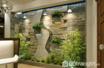 Lựa chọn tranh đá ốp tường đẹp 2018 trong trang trí ngoại thất