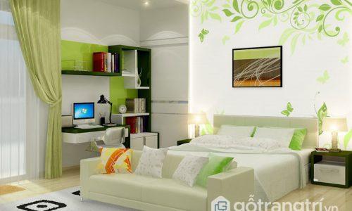 Tư vấn chọn tranh dán tường 3D phòng ngủ theo mệnh gia chủ