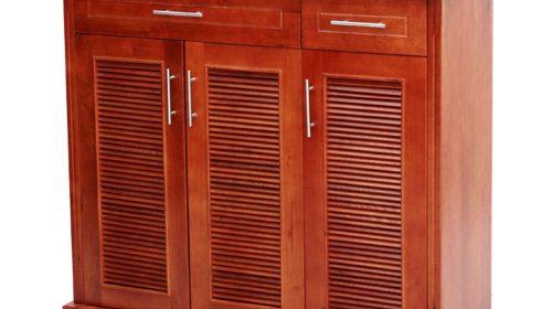 Mãn nhãn với các mẫu tủ giày bằng gỗ được yêu thích nhất hiện nay
