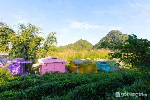 Mộc Châu Arena Village - Nhà container đầy sắc màu (Ảnh internet)