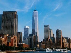 Tòa nhà nổi tiếng - Trung tâm thương mại One World, New York (Ảnh internet)