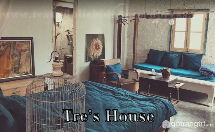 Homestay Tre's House tại Đà Lạt là nơi được nhiều người lựa chọn khi đến Đà Lạt vào mùa hoa dã quỳ (ảnh internet)