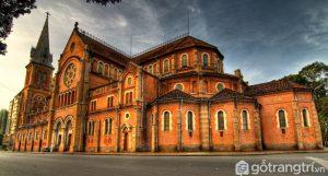 Vẻ đẹp của Nhà thờ Đức Bà - Ảnh internet