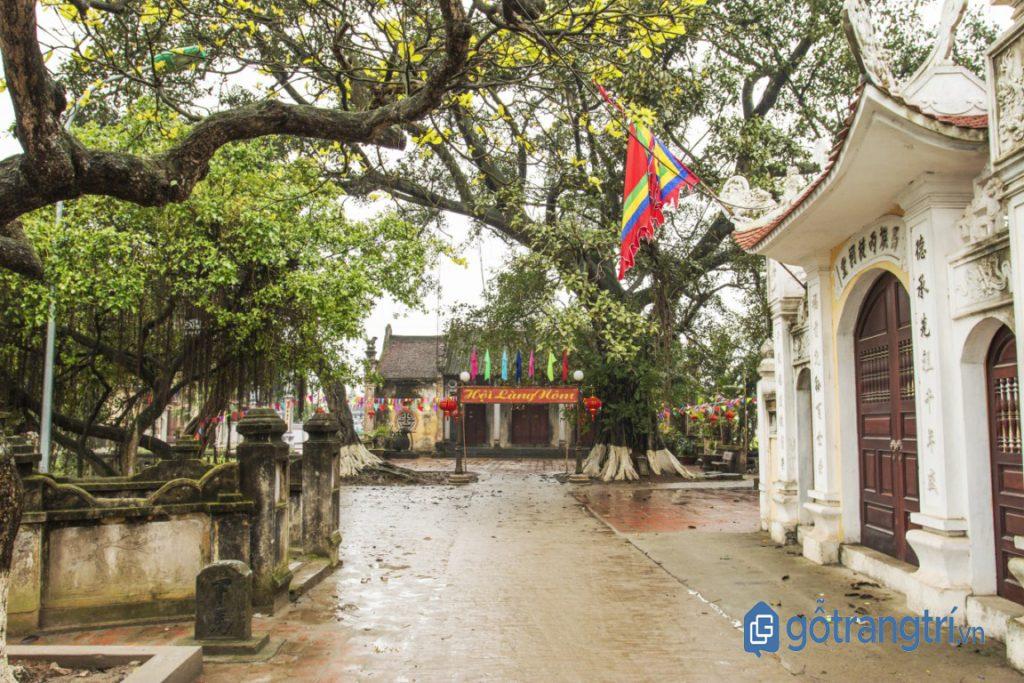Ngôi làng cổ duy nhất còn sót lại ở Phố Hiến. (Ảnh: Internet)
