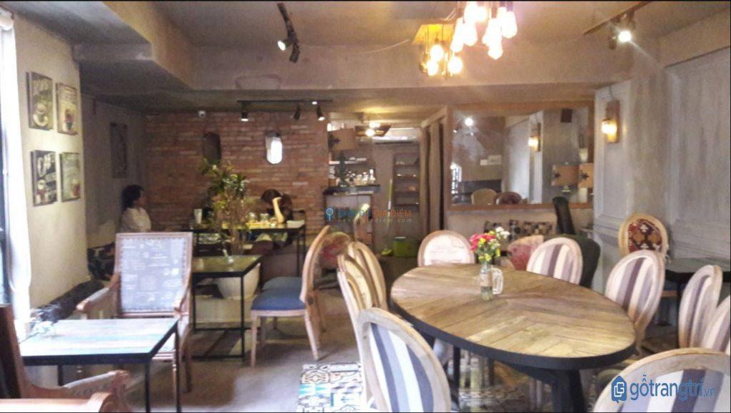 Không gian quán cà phê đẹp CI5 yên tĩnh, thích hợp làm việc và học tập. (Ảnh: internet)