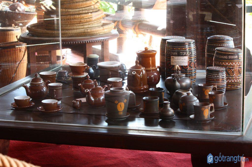Bảo tàng cà phê Buôn Ma Thuột có hơn 10.000 hiện vật cà phê. (ảnh: internet)